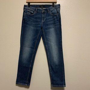 Banana Republic girlfriend denim jeans